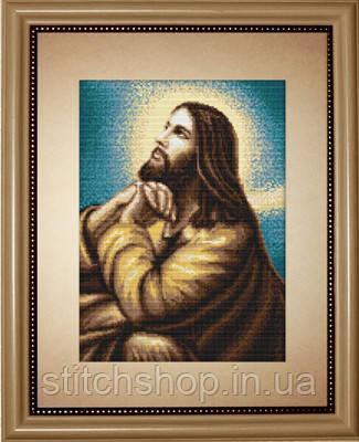 B306 Мольба Иисуса. Luca-S. Набор для вышивания нитками