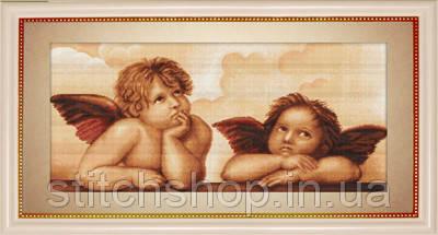 B319 Ангелочки. Luca-S. Набор для вышивания нитками