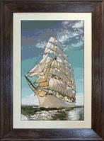 B335 Корабль. Luca-S. Набор для вышивания нитками