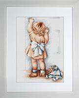 B373 Мамина помощница. Luca-S. Набор для вышивания нитками