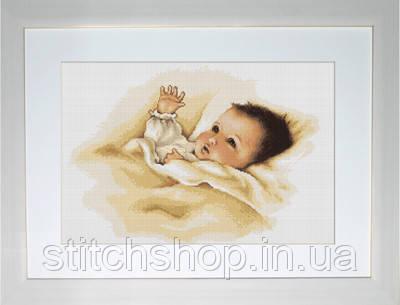 B385 Дите. Luca-S. Набор для вышивания нитками