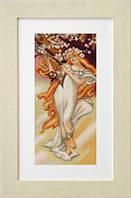 B405 Весна. Luca-S. Набор для вышивания нитками