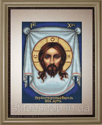 B420 Нерукотворный образ Иисуса Христа. Luca-S. Набор для вышивания нитками