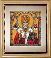 B421 Святой Николай. Luca-S. Набор для вышивания нитками
