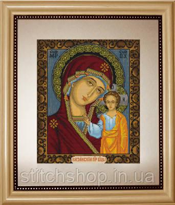 B436 Казанская Божья Матерь. Luca-S. Набор для вышивания нитками