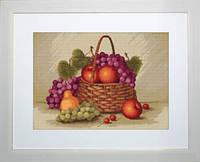 B450 Натюрморт с яблоками. Luca-S. Набор для вышивания нитками