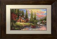 B451 Горный пейзаж. Luca-S. Набор для вышивания нитками