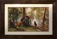 B452 Утро в сосновом лесу. Luca-S. Набор для вышивания нитками