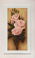 B455 Розы. Luca-S. Набор для вышивания нитками