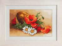B500 Полевые цветы. Luca-S. Набор для вышивания нитками