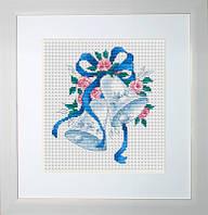 B127 Колокольчики. Luca-S. Набор для вышивания нитками