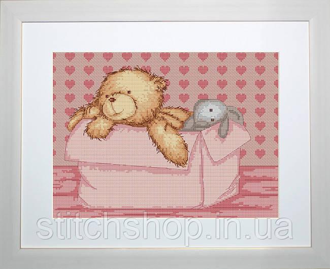 B131 Медвежонок. Luca-S. Набор для вышивания нитками