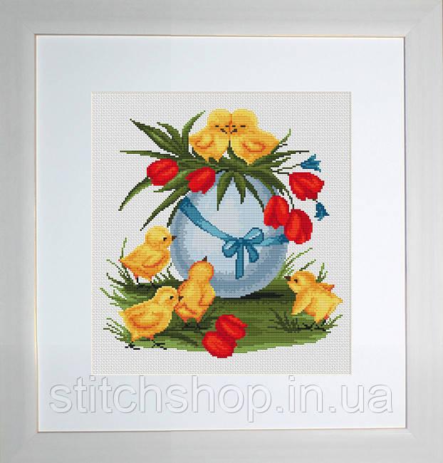 B186 Пасхальное яйцо. Luca-S. Набор для вышивания нитками