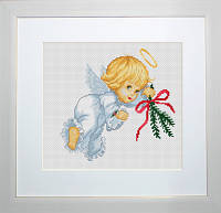 B190 Ангелочек. Luca-S. Набор для вышивания нитками