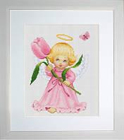 B193 Цветочек для мамы. Luca-S. Набор для вышивания нитками