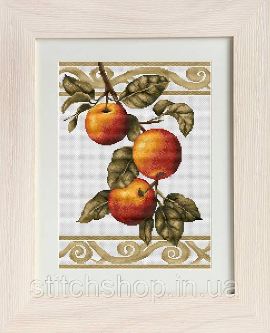 B276 Веточка яблони. Luca-S. Набор для вышивания нитками