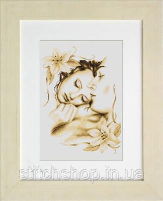 B295 Влюблённая пара. Luca-S. Набор для вышивания нитками