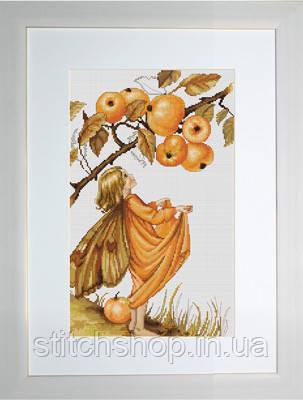 B297 Дикая яблоня. Luca-S. Набор для вышивания нитками