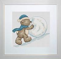 B1002 Медвежонок Бруно. Luca-S. Набор для вышивания нитками