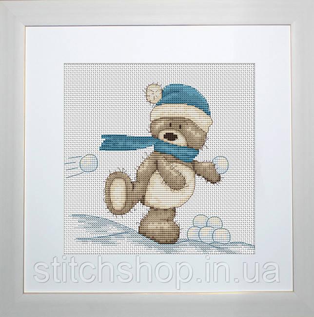 B1003 Медвежонок Бруно. Luca-S. Набор для вышивания нитками