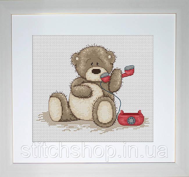 B1009 Медвежонок Бруно. Luca-S. Набор для вышивания нитками