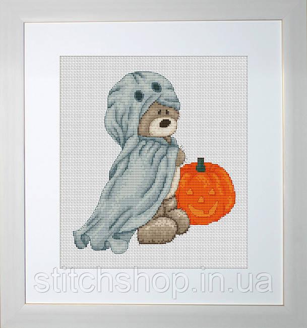 B1028 Медвежонок Бруно. Luca-S. Набор для вышивания нитками