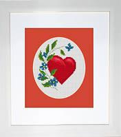 B1060 Валентинка. Luca-S. Набор для вышивания нитками