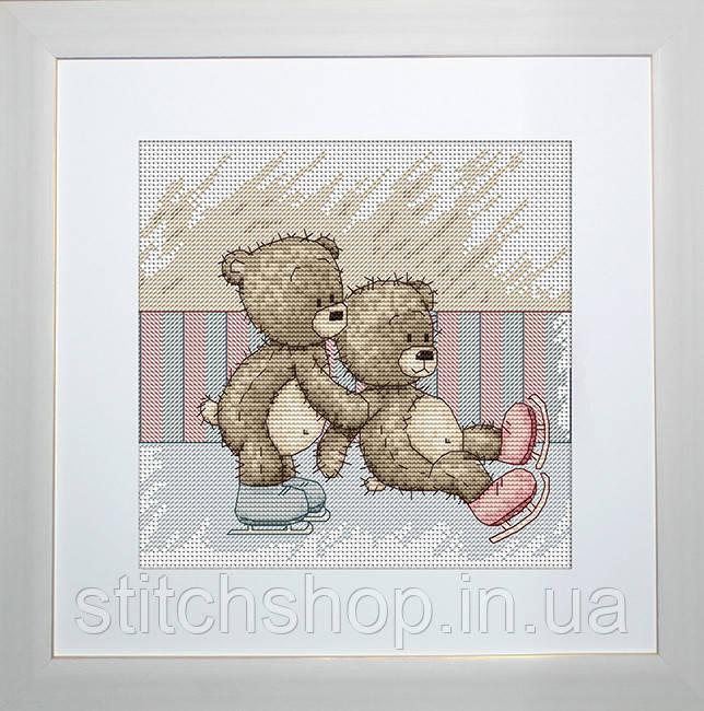 B1083 Медвежонок Бруно. Luca-S. Набор для вышивания нитками