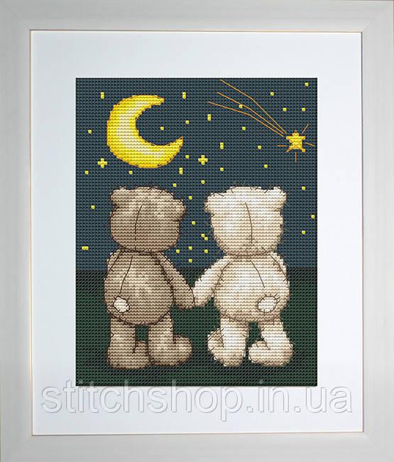 B1091 Бруно и Бьянка. Luca-S. Набор для вышивания нитками