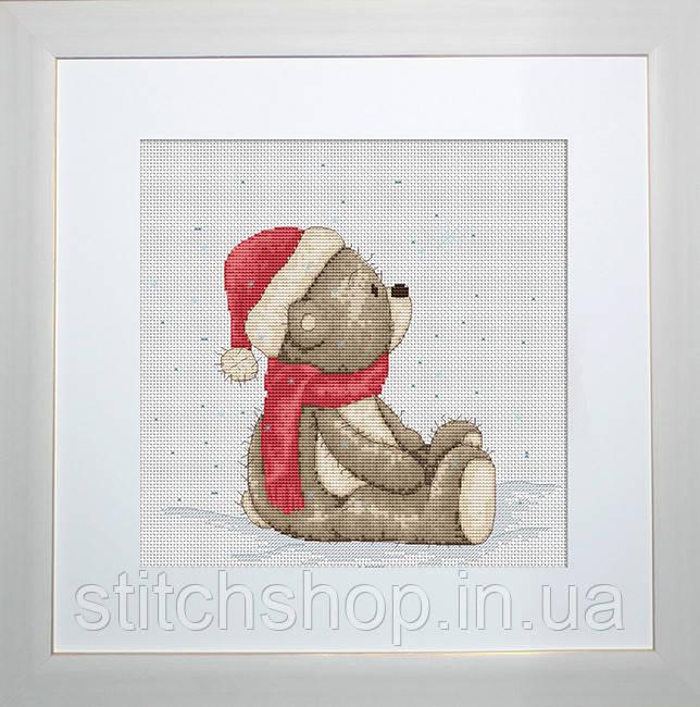 B1100 Медвежонок Бруно. Luca-S. Набор для вышивания нитками