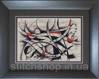 B2206 Абстракция. Luca-S. Набор для вышивания нитками