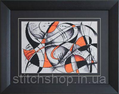 B2207 Абстракция. Luca-S. Набор для вышивания нитками