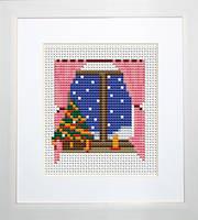B008 Новый год. Luca-S. Набор для вышивания нитками