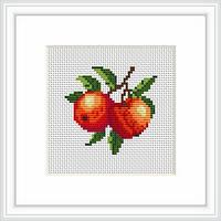 B028 Персики. Luca-S. Набор для вышивания нитками