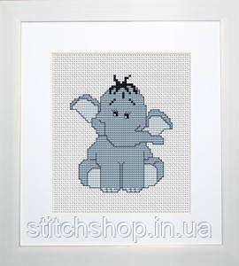 B041 Слоненок. Luca-S. Набор для вышивания нитками