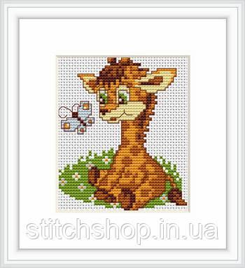 B044 Жираф. Luca-S. Набор для вышивания нитками