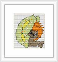 B070 Ежик . Luca-S. Набор для вышивания нитками