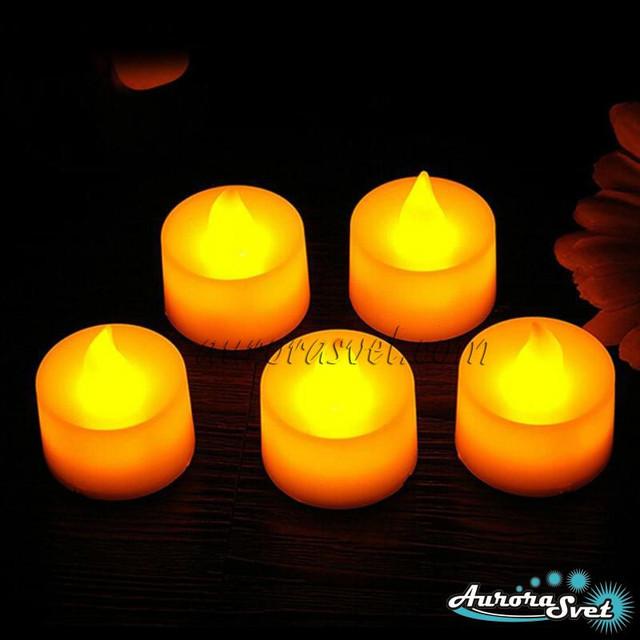 свечи светодиодные +на батарейках