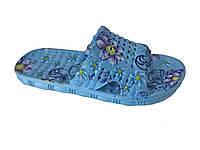 """Детский летний тапочек """"TS Shoes"""" голубой с принтом"""