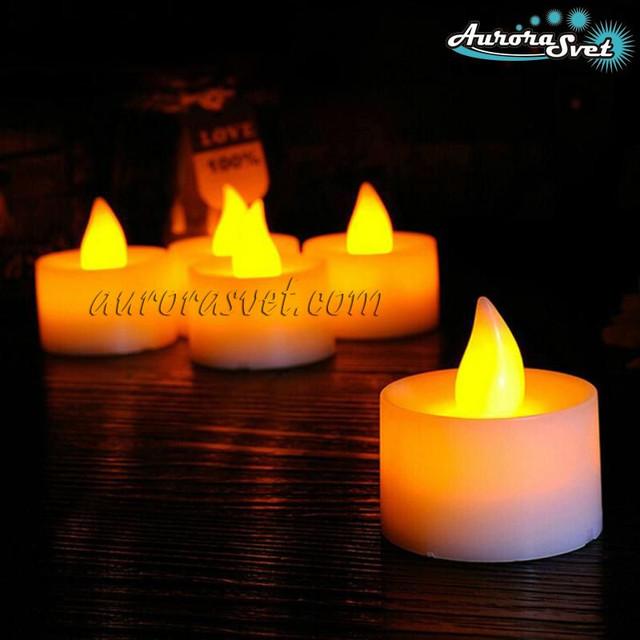 светильник свеча светодиодный