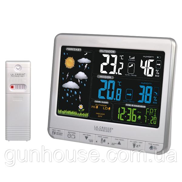 Купить метеостанцию La Crosse WS6826 White/Silver