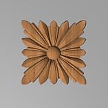Мебельная накладка Розетка. Код Р34, фото 5