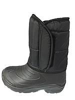 """Мужские дутики черные """"TS Shoes"""""""