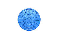 Люк ревизионный d 315мм (синий)