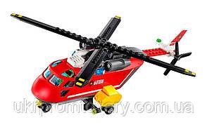 Новый конструктор пожарная команда быстрого реагирования Lego лего 60108, фото 3