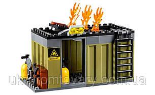Новый конструктор пожарная команда быстрого реагирования Lego лего 60108, фото 2