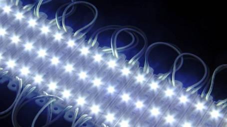 Светодиодный модуль SMD 3528-3СW 120* холодный белый IP65 Код.57615, фото 2