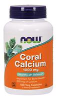Коралловый Кальций, Now Foods, Coral Calcium 1000mg, 100 caps