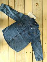 Джинсовая рубашка на мальчика на 4, 6, 8, 10, 12, 14 лет