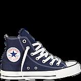 Кеды  All Star Chuck Taylor синие высокие, фото 2